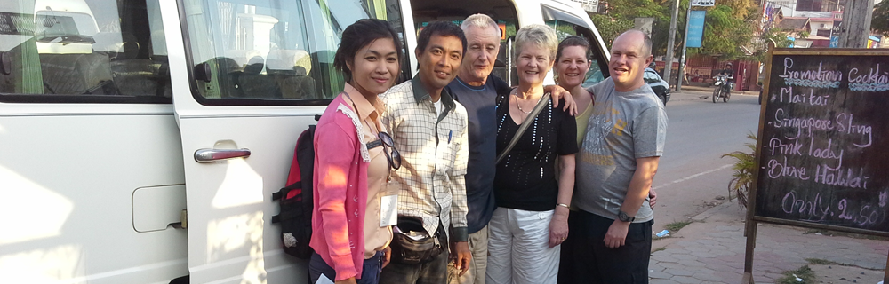 ( ATS Travel & Tour ) Visiting the Angkor Wat with English Speaking Tour Guide and Mini Van Day Tour