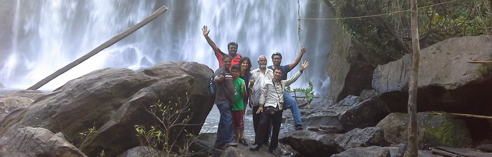 Kulen Mountain Water Fall ( ATS Cambodia Tour )