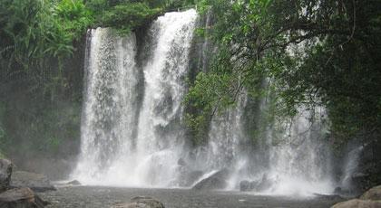 Kulen mountain water fall