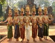 Traditional Apsara Dancing - Siem Reap