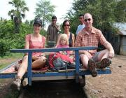Bamboo Train Rides - Battambang