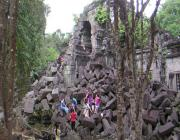 Siem Reap Beng Mealea and Roluos Temples Day Tour